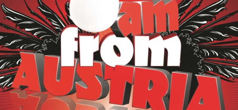 Das Logo der Band I am from Austria.